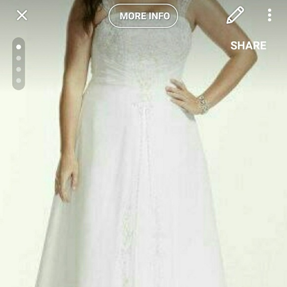 Davids Bridal Dresses Plus Size Dress Poshmark